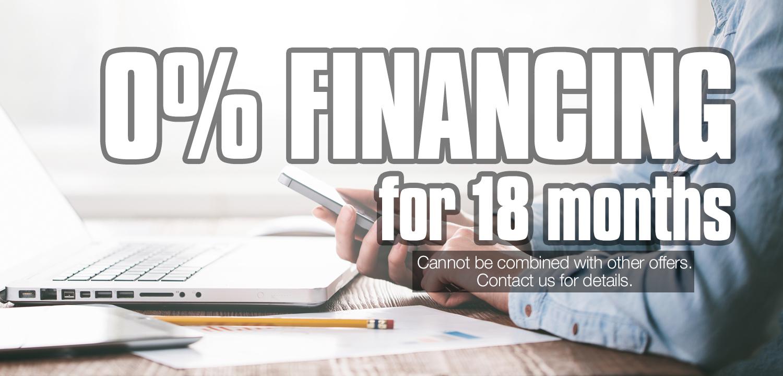 R.J. Nelson 0% Financing