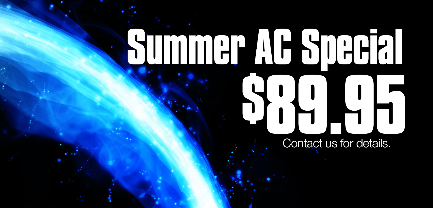 RJ Nelson Summer AC Special